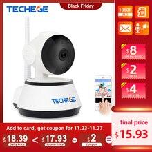 Techege 1080p hd câmera ip sem fio wifi 2mp com fio de vigilância vídeo visão noturna câmera segurança em casa rede interior yoosee