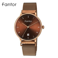 Fantor Fashion Watches Women Luxury Brand Magnetic Buckle Wristwatch Ladies Quartz Bracelet Watch Woman Female Clock Waterproof