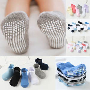 0-To-6-Yrs Baby Sock Anti-Slip Girls Children's Cotton Boys Boat for Kid with Four-Season