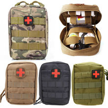 Medical First Aid Pouch Tactical Portable Outdoor Travel Camping Kit Survive Bag Cover Hunting Emergency Pack