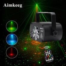 Profissional luz do projetor laser dj estágio lâmpada 8 feixes de entretenimento ao ar livre luzes festa discoteca para efeito iluminação comercial
