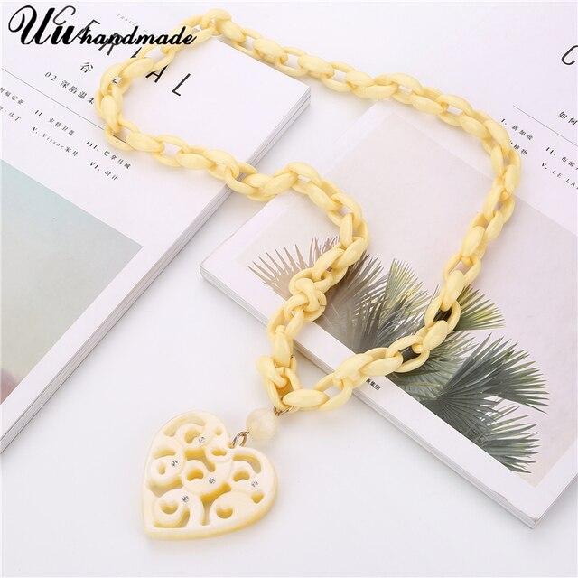 Купить винтажные длинная звеньевая цепь ожерелье lover сердце кулон картинки