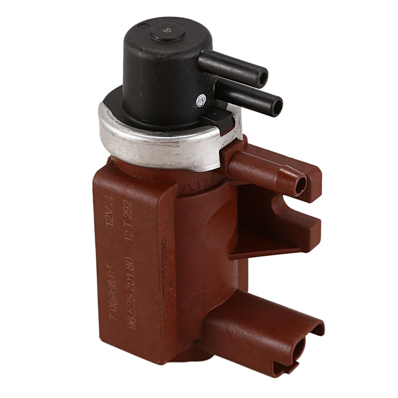 Électrovanne de pression Turbo, soupape de suralimentation turbocompresseur 9652570180 pour Peugeot Citroen