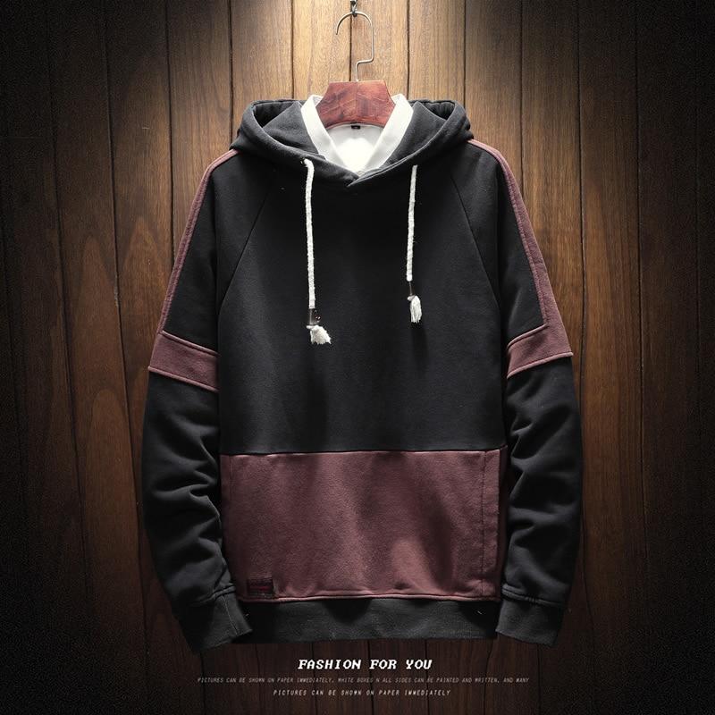 FMZXG 2020 Autumn Winter New Men's Velvet Sweater Fashion Trend Fit Winter Dress Plus Velvet Sweater 1