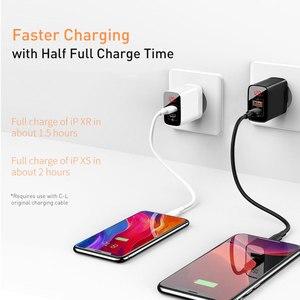 Image 3 - Baseus 18W typ C ładowarka USB dla iPhone 11 Pro Max szybkie ładowanie 3.0 PD3.0 szybka ładowarka do telefonu z FCP AFC dla Huawei Samsung