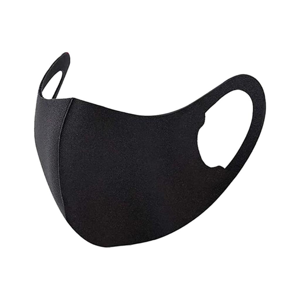 Черная маска для рта моющаяся многоразовая маска для лица унисекс защитные маски Masque En Tissu Mondmasker Mascarillas покрытие для рта|Маски|   | АлиЭкспресс