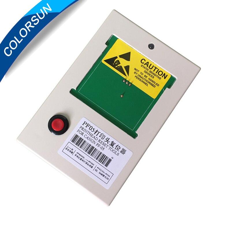 PF-05 сброс печатающей головки Печатающая головка чип Resetter декодер для Canon iPF6300 6350 6400 6450 6460 8300S 8300 8400 9400