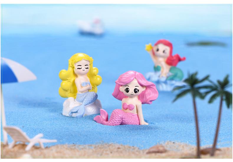 Сказочный Сад миниатюрные милые мини фигурки Русалочки полимерные