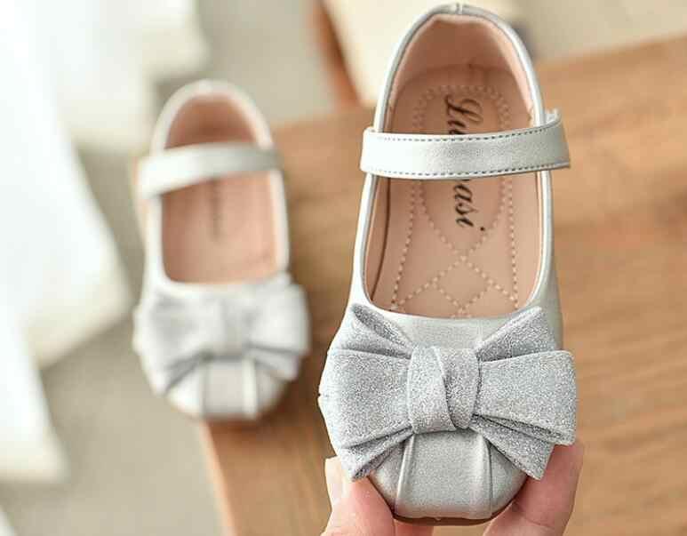 2019 moda kız erkek ayakkabı yeni marka çocuk pu deri ayakkabı gündelik ayakkabı çocuk çocuk kız tek ayakkabı