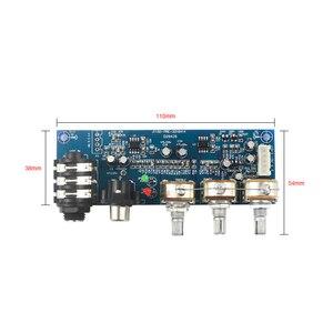 Image 5 - Một trong những kênh Micro và 2 kênh Âm Nhạc Đầu Vào Tiền Khuếch Đại ban Mono 2 tầng EQ Bass treble điều chỉnh