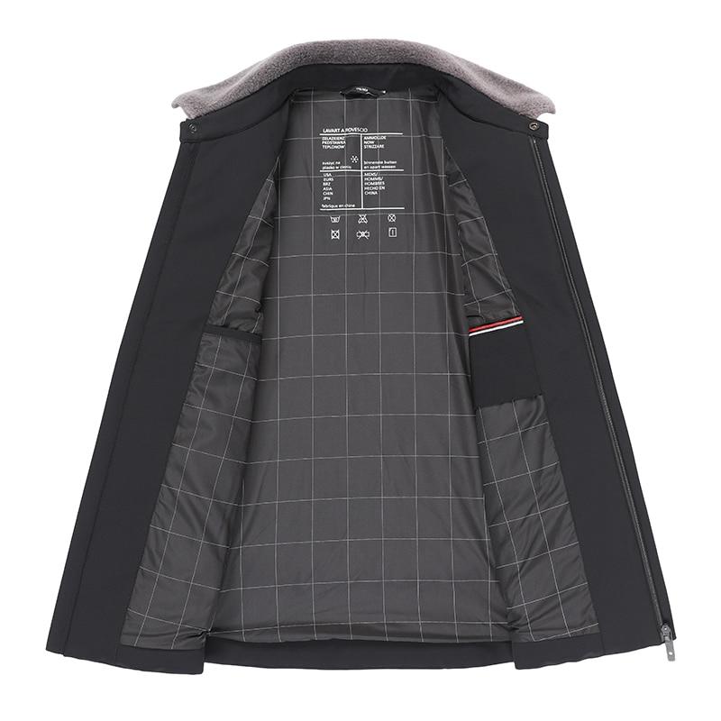 Plus size 10xl 9xl 8xl jaqueta de inverno para baixo dos homens nova marca 90% pato branco para baixo engrossar quente masculino negócios casual casacos roupas - 4