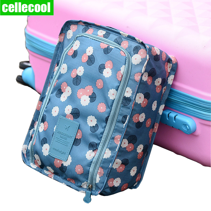 CelleCool Waterproof Shoes Bag Portable Shoes Organizer Sorting Pouch Zip Lock Home Storage Pouch Storage Travel Bag