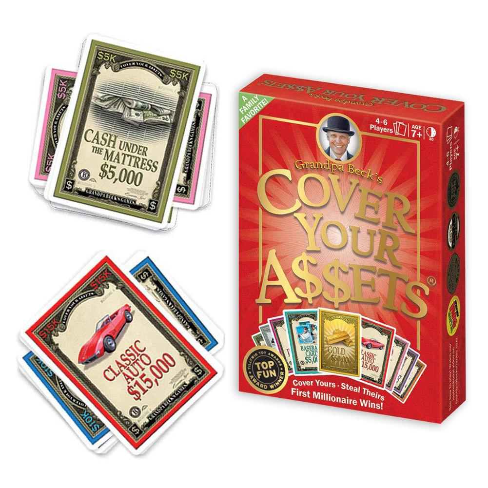 Fun Family Collecting Card Games Enjoyed By Kids Teens And Adults For Cover Your Assets Grandpa Beck