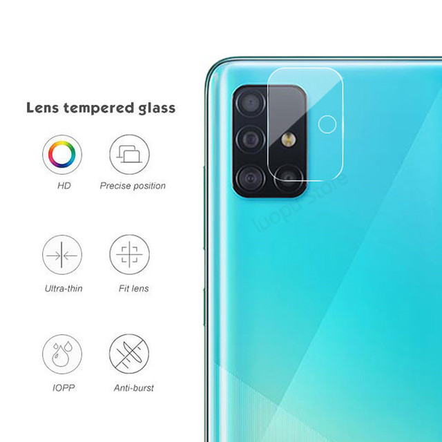 tempered glass for samsung A51 A71 A50 A30 a 51 a31 a21s glass camera lens screen protective for samsung galaxy A71 A51 glass 3