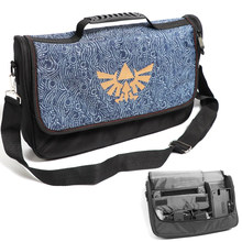Bolsa de viaje protectora para Nintendo Switch, bolso de hombro con múltiples bolsillos para Switch NS