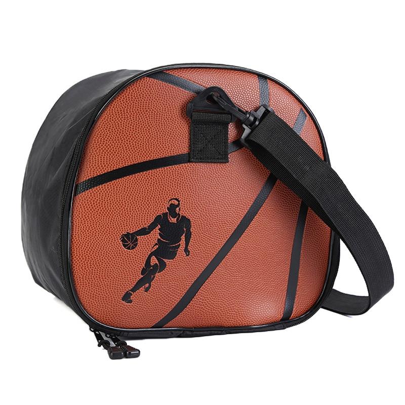 Basketball Bag Sports Bag Logo Customizable Large Capacity Sports Bag Leather Basketball Storgage Bag