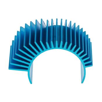 High Quality Aluminum RC Car Motor Heatsink Cooling Fin Part for WLtoys A979-B A959-B 540 1:10 1:12 1:8 RC Car Spare Parts New image