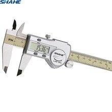 Shahe dijital sürmeli kaliper ölçer paquimetro elektronik dijital kumpas paquimetro dijital 150 mm ölçme aracı