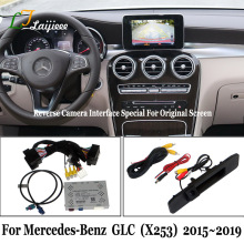 Voor Mercedes Benz Glc X253 2015 ~ 2019 Reverse Camera Kit/Hd Achteruitkijkspiegel Parking Camera Met Interface Update Originele screen
