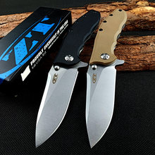 ZT0562 Ball Bearing Folding Knife ELMAX Blade Flipper Tactical Pocket Knives Camping Hunting Survival Knife EDC Outdoor Tool OEM(China)