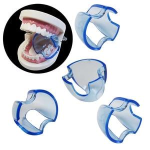 Image 4 - Lote de 20 unidades de Retractor Dental Autoclavable, expansor de mejillas, abridor de boca para dientes posteriores, color azul