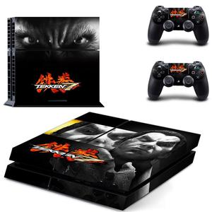 Image 2 - Game Tekken 7 PS4 Stickers Play station 4 Skin Sticker Decals For PlayStation 4 PS4 Console and Controller Skins Vinyl