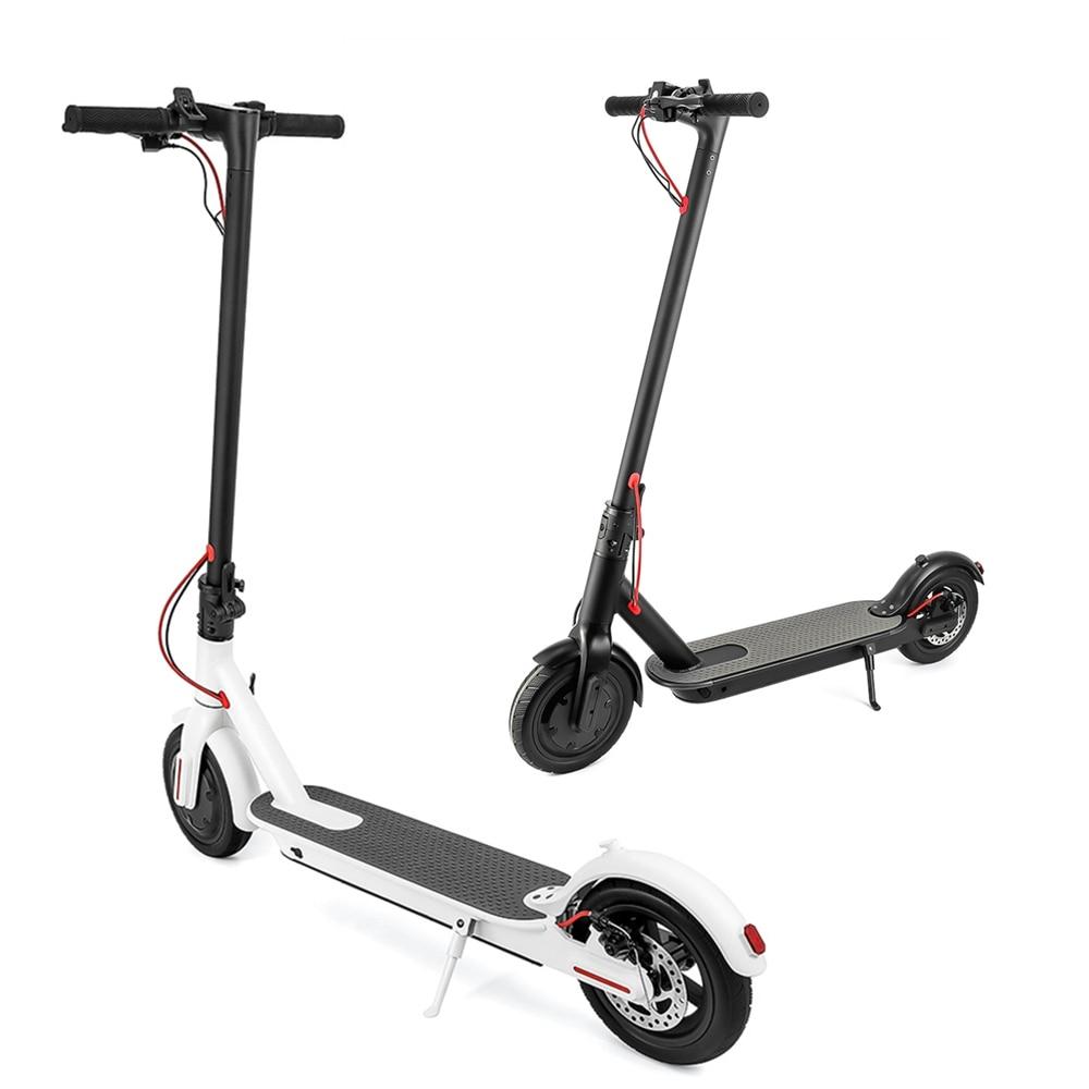 Scooter elétrica Dobrável Inteligente Elétrica Rodas de longboard 2 Hoverboard Skate Elétrico com luz LED LCD Screen Display