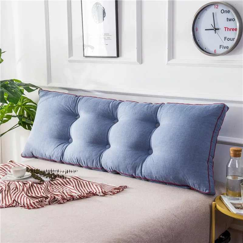 vescovo big long reading pillow cushion backrest cushion large sofa waist pillow for tatami double bed