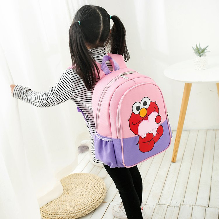 Large Small Cute Cartoon College Style School Bag Kindergarten Men And Women Baby Large Primary Class School Bag First Grade Chi