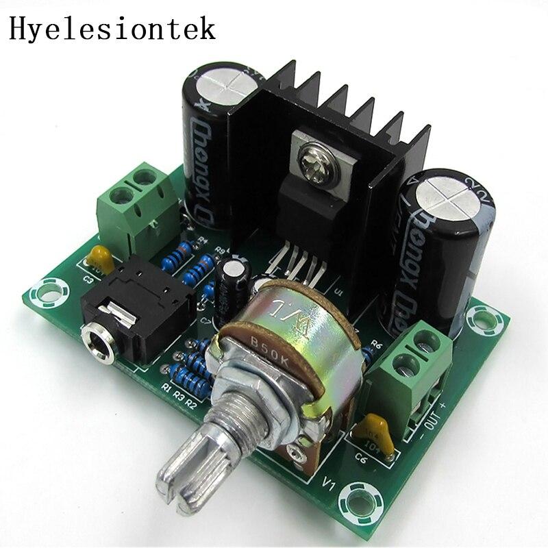 Audio Power Amplifier Board 15W+15W 10~25V DC Dual Channel Wireless Mini Amplifier Board for Speaker Sound System DIY
