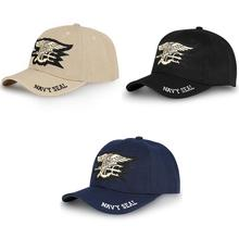 купить Mens US NAVY Baseball Cap Navy Seals Hats Tactical Army Cap Trucker Gorras  Snapback Hat for Adult Women Men New 2019 дешево