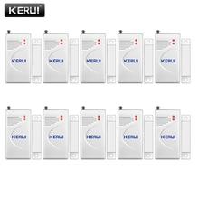 KERUI 3 قطعة/الوحدة 433 ميجا هرتز اللاسلكية افتتاح الاستشعار إنذار المنزل الأمن نافذة/الباب الاستشعار الفجوة كاشف ل gsm PSTN أنظمة إنذار