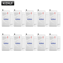 KERUI 3 יח\חבילה 433mhz אלחוטי פתיחת חיישן בית אבטחת חלון/דלת חיישן פער גלאי עבור gsm PSTN מערכות אזעקה