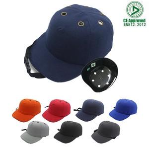 Image 4 - 新作安全バンプキャップヘルメット野球帽子スタイルの保護、作業現場ため摩耗ヘッド保護