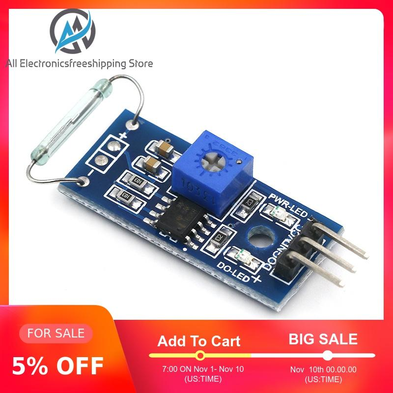 G123-08 Dry Reed Pipe Sensor Module Magnetron Module Dry Reed Switch Magnetic Control Switch