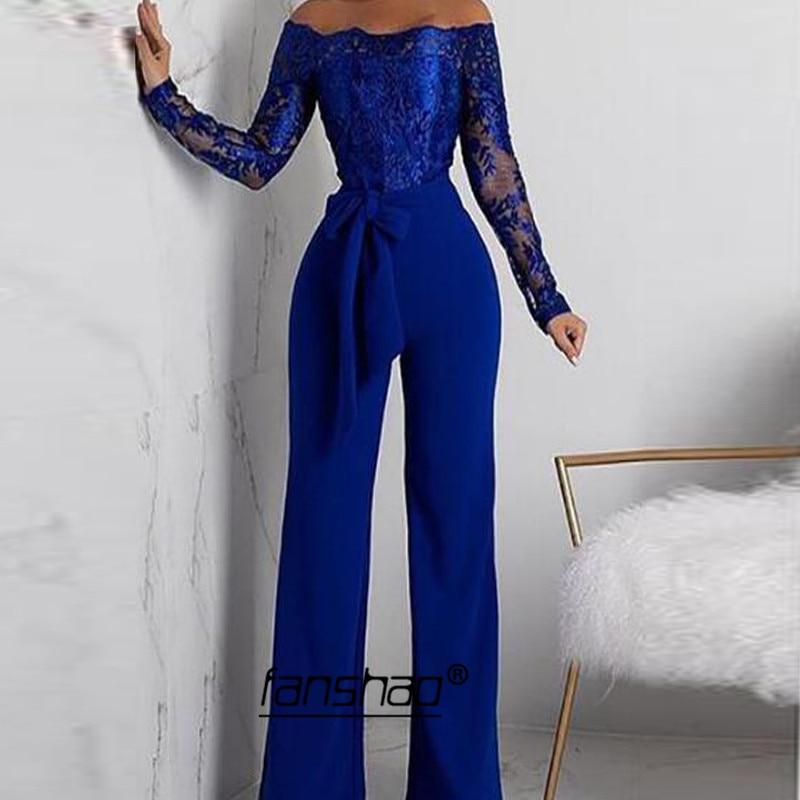 Pants Off Shoulder Evening Dress Applique Full Sleeve Special Occasion Dress Islamic Dubai Saudi Arabic Evening Gown Prom Dress