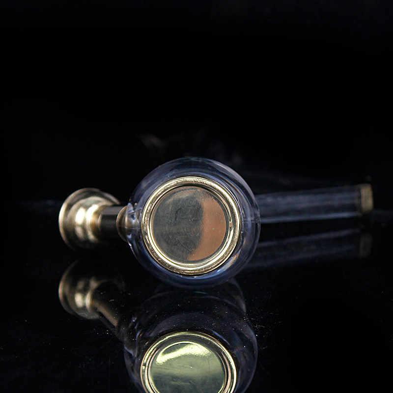 1 pçs novo popular mini hookah shisha tabaco fumar tubos presente criativo metal titular do cigarro acrílico tubo de água