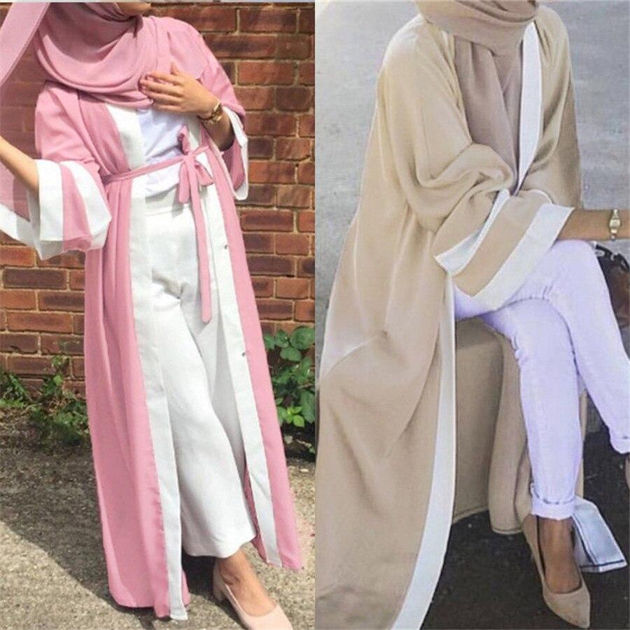 OLOMLB ouvert abaya dubaï femme robe musulmane femmes vêtements islamiques jilbab hijab robe abaya turquie turc caftan