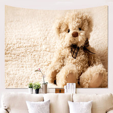 Decoration Wall Blanket Bear Gifts Pattern Star Lamp Snowman Wall Hanging Tapestry Bed Sheet Sofa Mat snowman pattern wall hanging tapestry