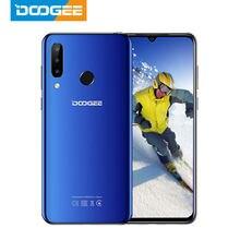 Doogee smartphone n20 mt6763, telefone celular, 64gb, 4gb, octa core, impressão digital, 6.3 polegadas, fhd + display, câmera traseira tripla de 16mp celular lte 4350mah
