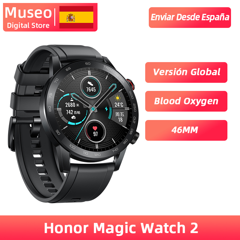 Global Version Honor Magic Watch 2 Smart Watch Bluetooth 5.1 Smartwatch 14 Days Waterproof Sport Watch Dual Mode For Android IOS