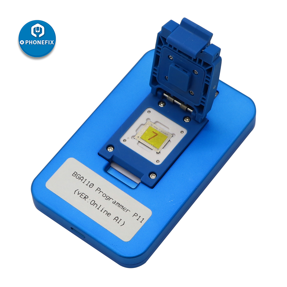 JC P11F P11 Phone NAND BGA110 Programmer For iPhone 8 8P X XR XS MAX NAND Flash For iphone NAND underlying data read write tool