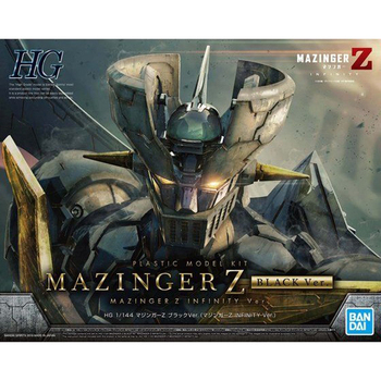 BANDAI HG 1/144 Black Mazinger Z Gundam Theatrical Edition INFINITY Armored Mannequin Action Figure Kids Toy Gift 2