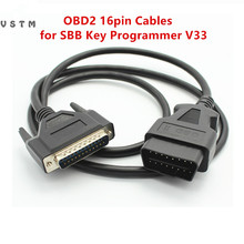VSTM OBD OBD2 16pin Cables for SBB Key V33 SBB Key Programmer V33 OBD 16 PIN Cable Main cable