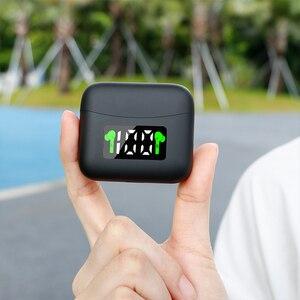 Image 3 - ANC J5 Tws Bluetooth 5.0 Wireless Headphones Sport Earphones Stereo Waterproof Earbuds Music Touch Control Headphones With Mic
