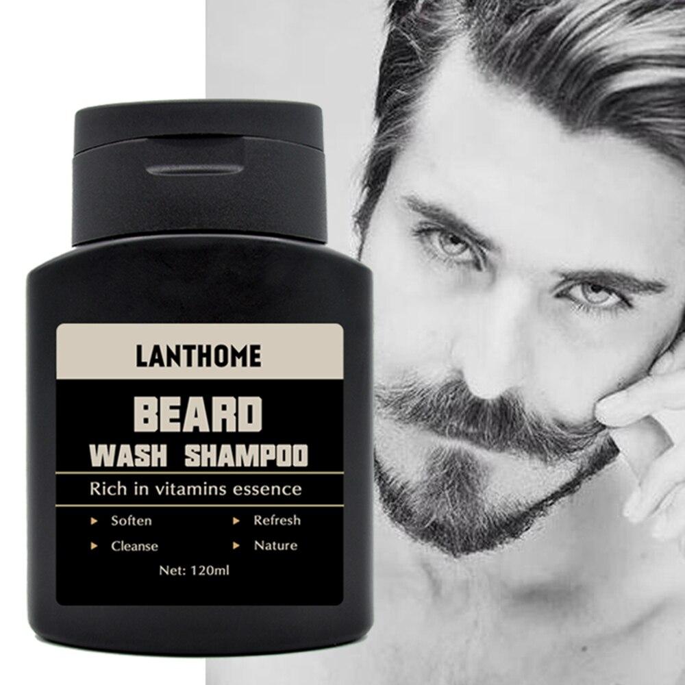 Men's Beard Shampoo Deep Cleansing Nourishing Beard Cleansing Milk Moisturizing Deep Cleansing Beard Shampoo Shampoo