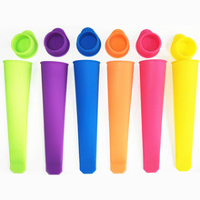 Silicone Ice Stick Molds Form for Ice Cream Maker DIY Summer Frozen Ice Cream Mold Kitchen Tools Popsicle Maker Lolly Mould 15ml 8cells ice pop lolly maker tray mould frozen cream popsicle yogurt mold maker diy pba free 35