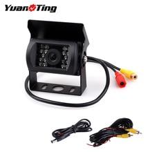 YuanTing заднего вида ночного видения водонепроницаемый резервная камера и безопасности AV разъем кабель для автобуса RV Грузовик Сверхмощный