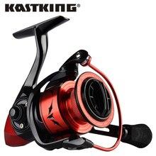 KastKing Geschwindigkeit Dämon 7.2:1 getriebe Verhältnis Metall Körper Spinning Reel 11,34 KG Max Drag Power Angeln Reel für Bass Hecht Angeln