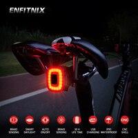 ENFITNIX CubeliteII 2 Fahrrad Schwanz Lichter Intelligente Sensor Bremse Licht Xlite100 Cubelite II Rennrad MTB Hinten Rückleuchten